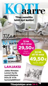 Tilaa KotiAarre -lehti